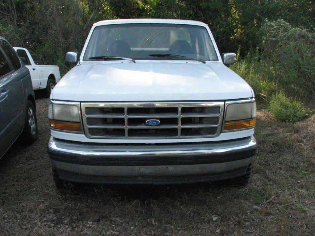 1992 Ford F150  White Stock 17110 VIN 1FTEX14H4NKB58599