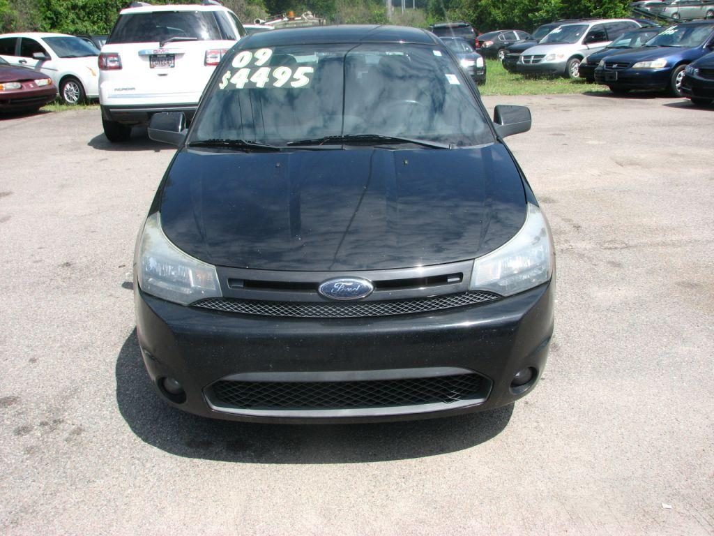 2009 Ford Focus  Black Stock 16185 VIN 1FAHP32N19W155679