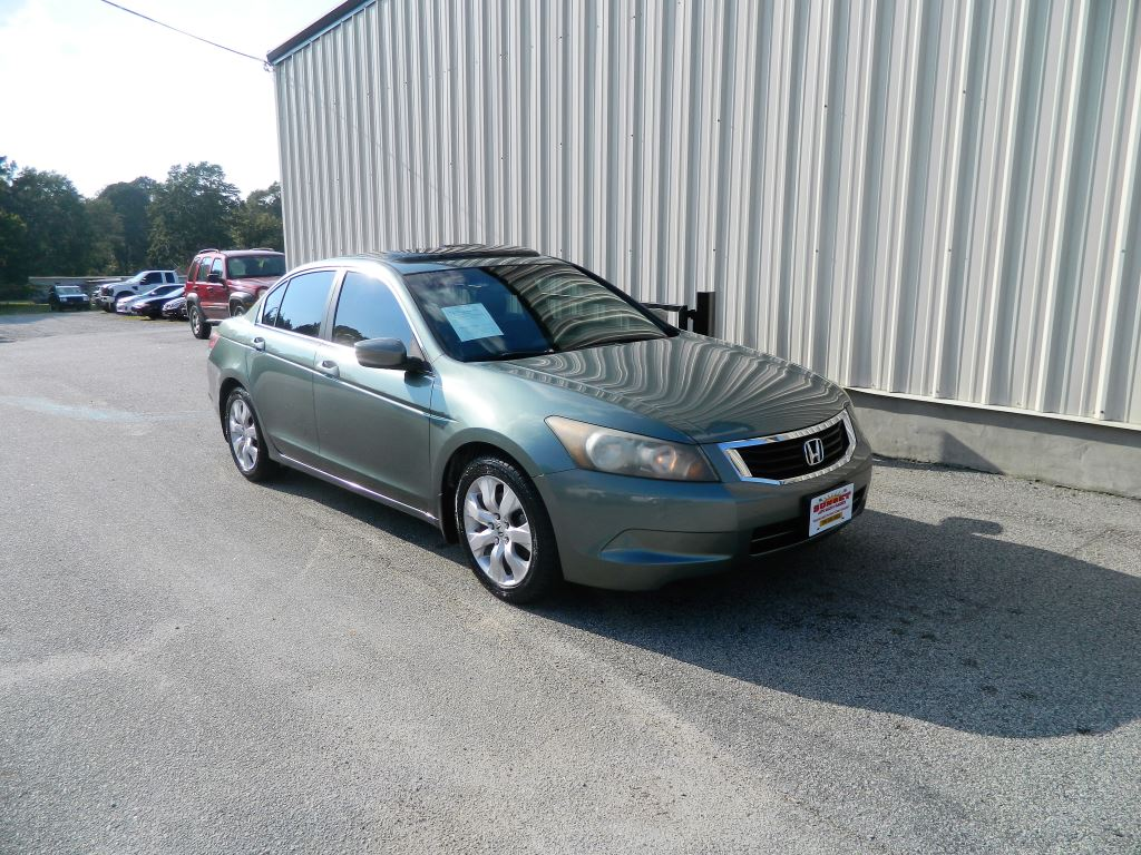 2008 Honda Accord  2008 Honda Accord EX-L Seats 5 AC Power LocksWindowsSeats Steering Contr