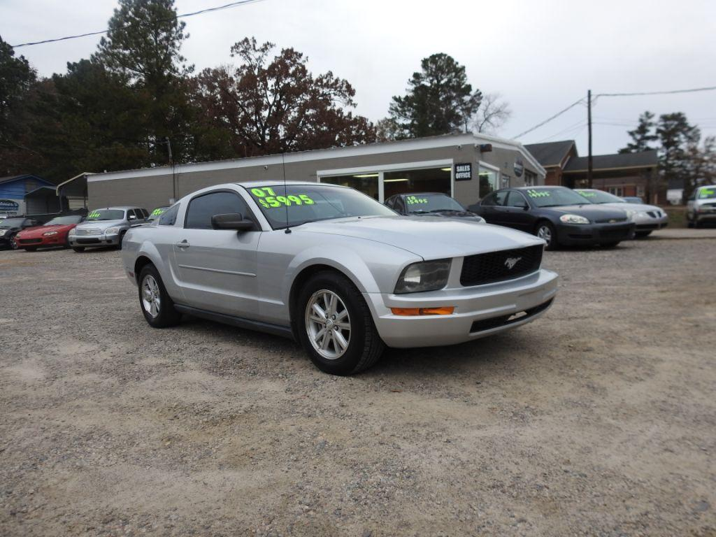 2007 Ford Mustang  Silver Stock 18249 VIN 1ZVFT80N775318364