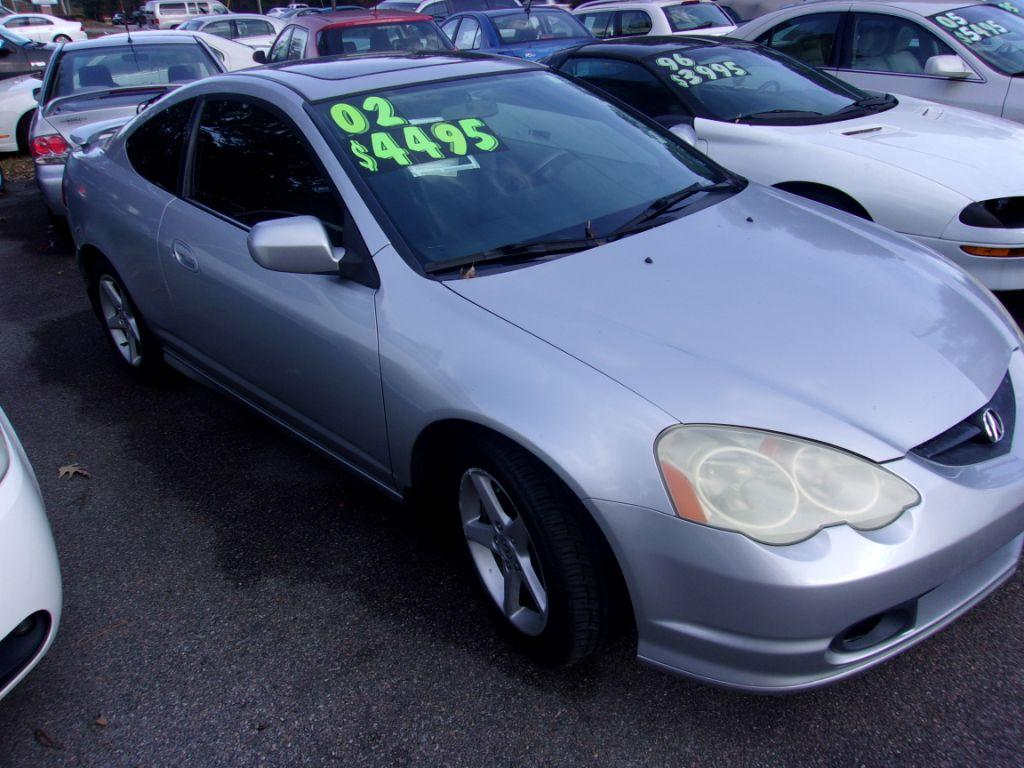 2002 Acura RSX  Silver Stock 17191 VIN JH4DC53062C034784