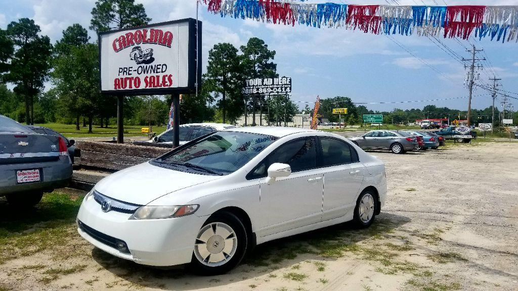 2008 Honda Civic Hybrid White  Air filter Air ConditioningAutomatic Air ConditioningDigital med