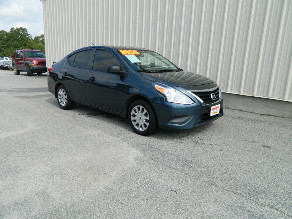 2015 Nissan Versa  16L  4 CYL S CALL MADD MISSY OR LEAPING LARRY AT 866-559-7757 BLU Stock 8