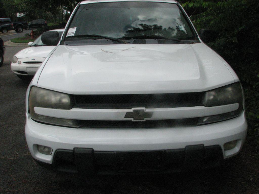 2004 Chevrolet Trailblazer  White Stock 17156 VIN 1GNDS13S142118087