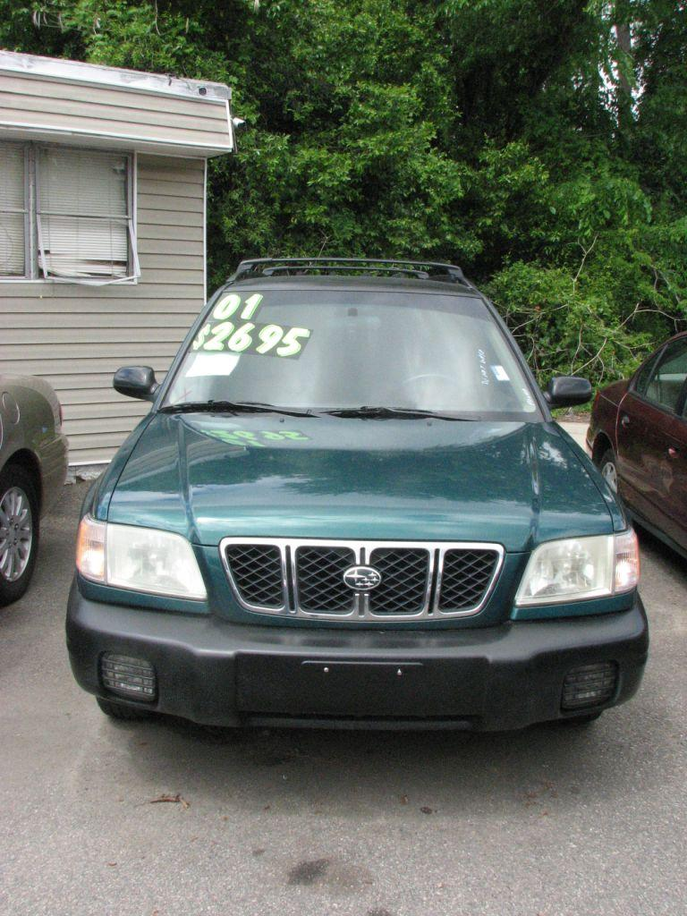 2001 Subaru Forester  Green Stock 17081 VIN JF1SF63531H714070