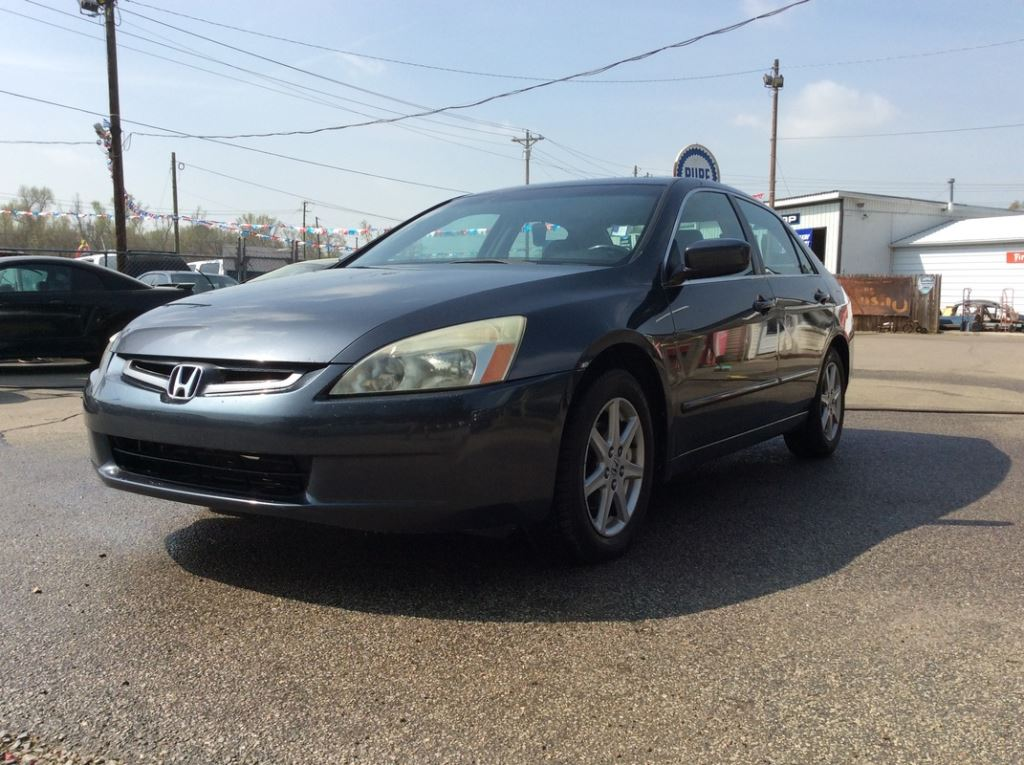 2004 Honda Accord  Grey Stock 7540 VIN 1HGCM66594A069858