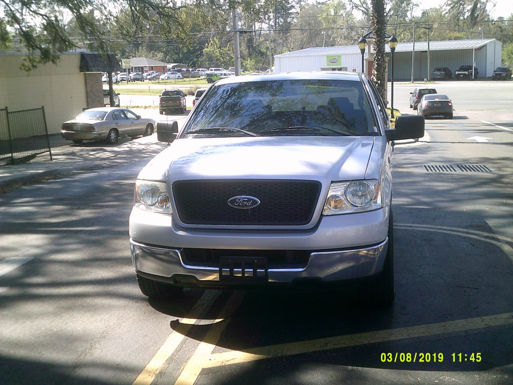 2004 Ford F150  Clean Local trade In Ex Cab Silver Abs 4wheelAir ConditioningAlloy Wheels