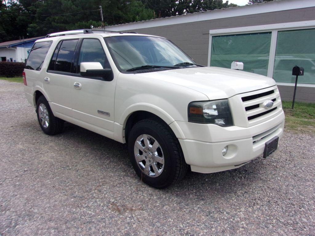 2007 Ford Expedition  White Stock 18140 VIN 1FMFU19577LA67203