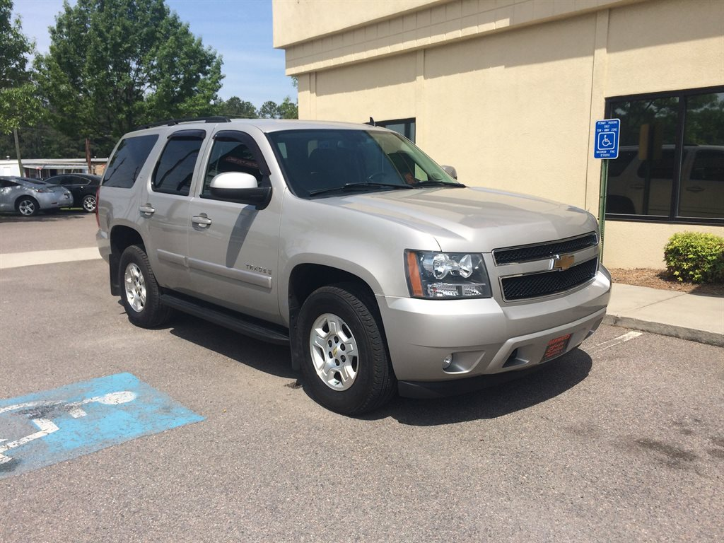 2007 Chevrolet Tahoe LT 2007 CHEVROLET TAHOE LTZ71 THIRD SEAT FULLY SERVICED Gold Stock 41856