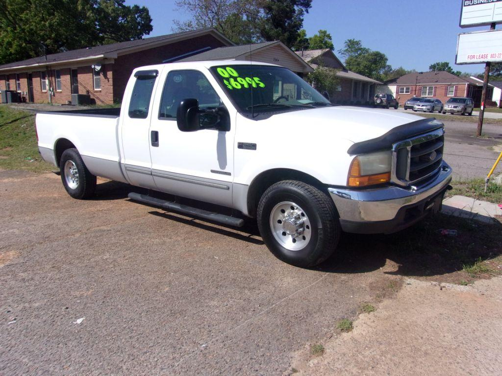2000 Ford F250sd  White Stock 18067 VIN 1FTNX20F5YEA70237
