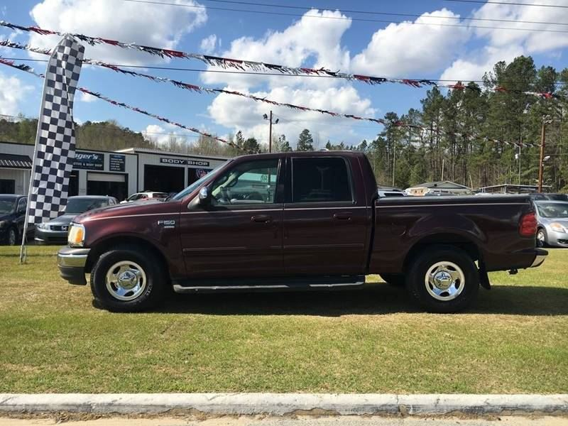 2001 Ford F150  Burgandy Stock 7755 VIN 1FTRW07W31KE07123