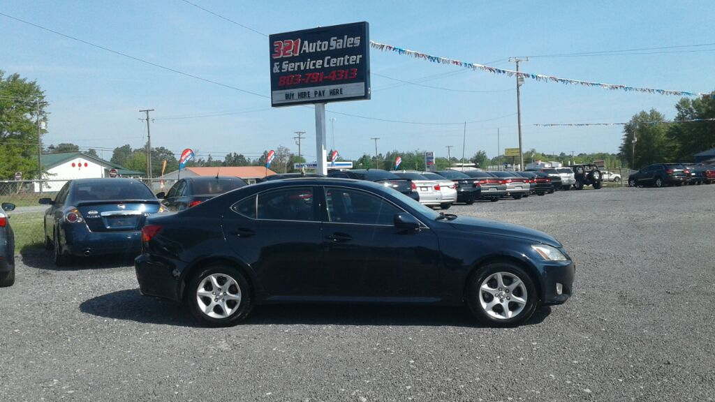 2008 Lexus IS 250  Fully loaded leather sunroof low miles pw ps pl very clean  Blue Stock 481