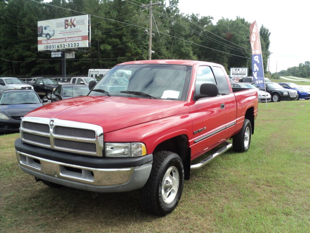 2001 Dodge Ram 1500  RED Stock 7160 VIN 3B7HF13Z21G242142