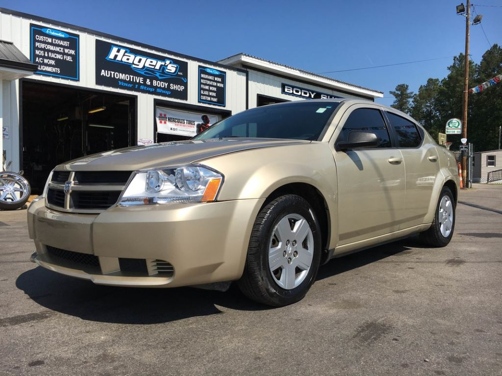 2010 Dodge Avenger  Gold Stock 7547 VIN 1B3CC4FB6AN136241