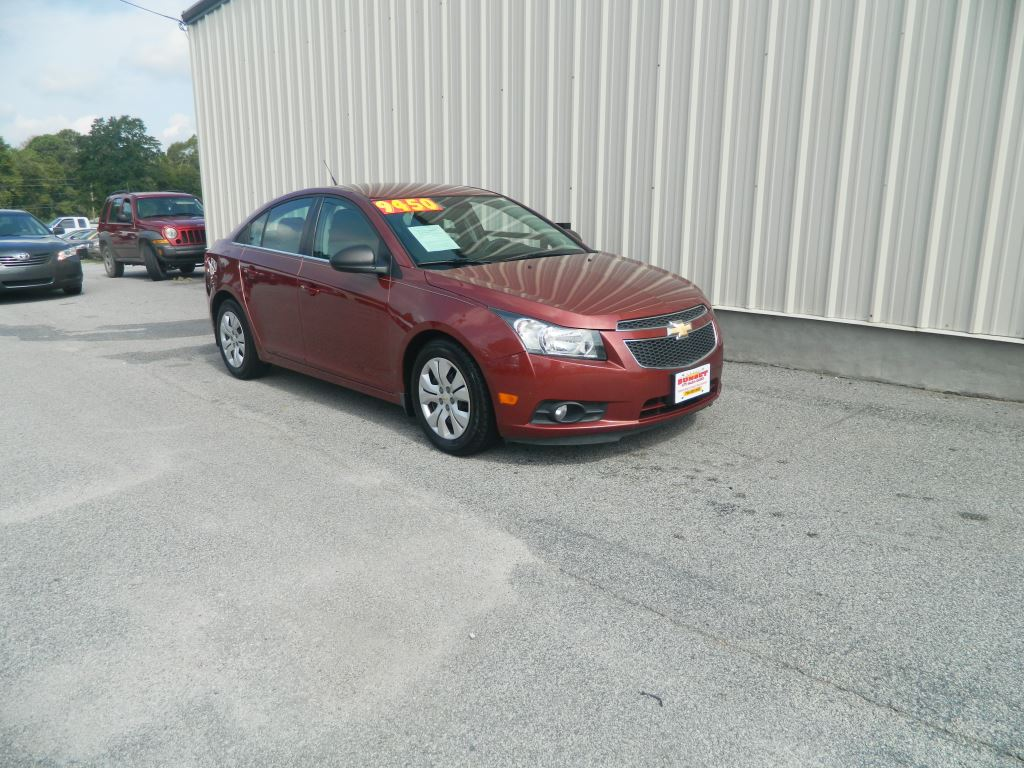 2012 Chevrolet Cruze  18L 4 CYL LS GOOD MILES  CALL LEAPING LARRY AT 866-559-7757 BRO Stock