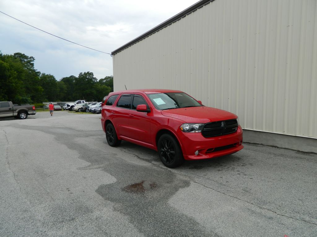2013 Dodge Durango  36L V6 SXT SUV Tinted Windows Fog Lights 3rd Row Seating Dual AC Touch