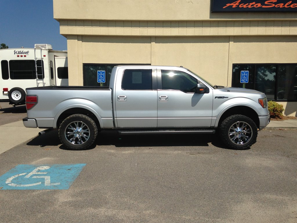 2010 Ford F150 FX2 Silver Or Aluminum 402040 Split-Folding Seats - Front4 Cupholders4 Doors4