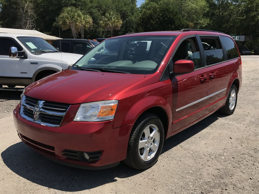 2010 Dodge Grand Caravan SXT 1450 DOWN Red Stock 5077 VIN 2D4RN5D11AR234361