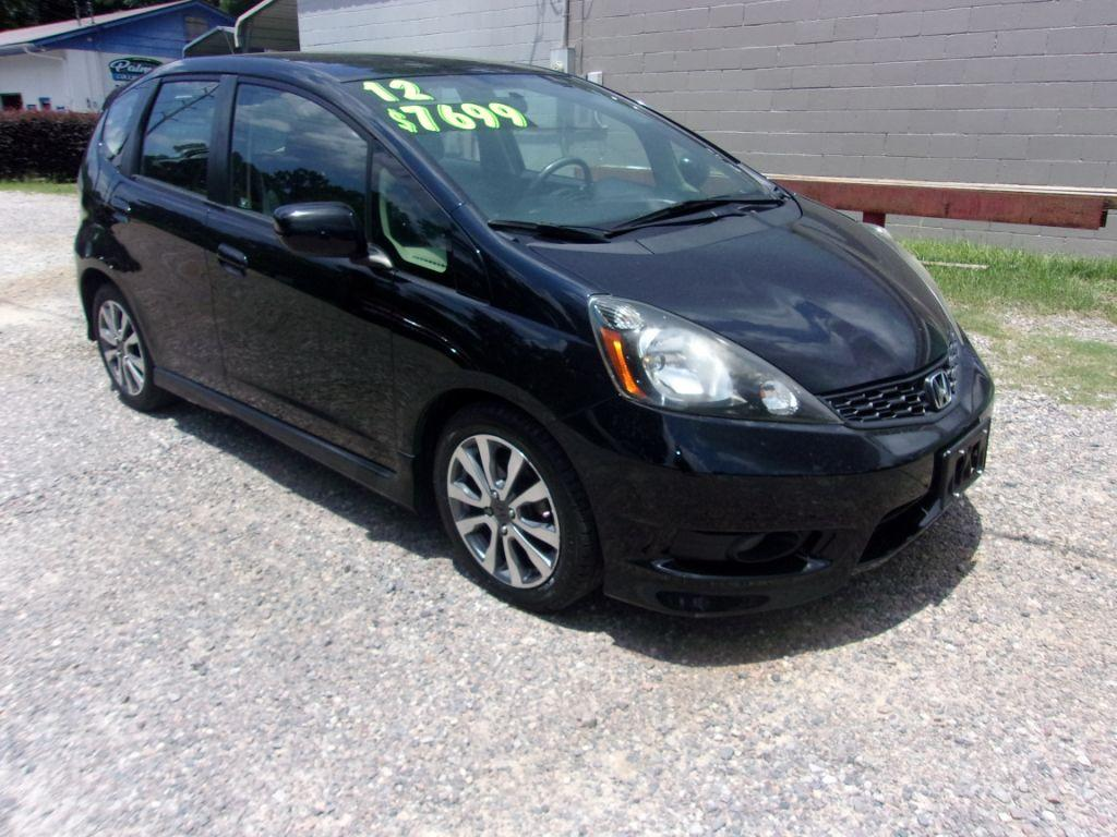 2012 Honda FIT  Black Stock 18142 VIN JHMGE8H53CC012112