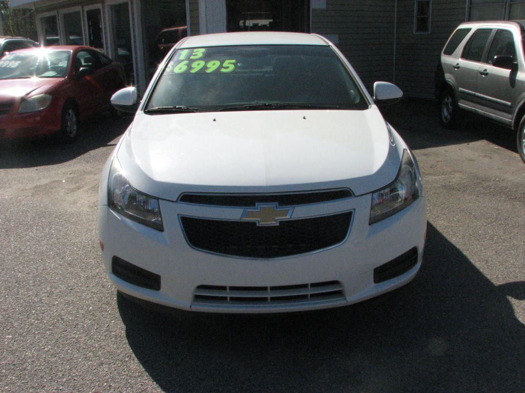 2013 Chevrolet Cruze  White Stock 17153 VIN 1G1PC5SB8D7229310