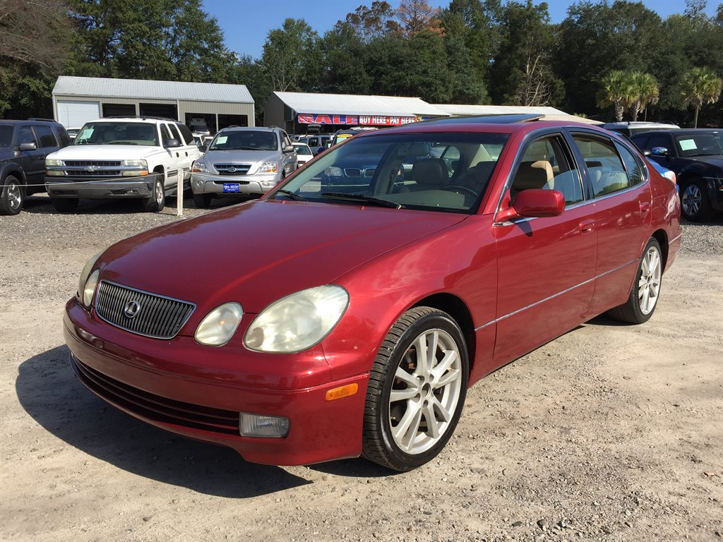1999 Lexus GS 300  950 DOWN Red Automatic AIR ConditioningControlS Dual AIR Conditioning