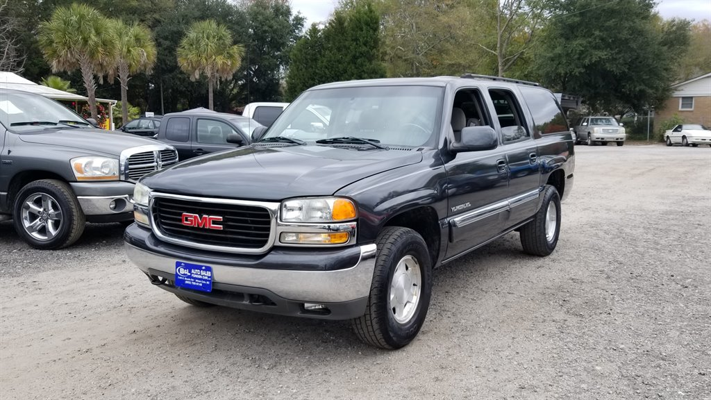 2003 GMC Yukon XL 1500 SLE 1400 DOWN Grey Stock 7147 VIN 1GKFK16Z43J320795