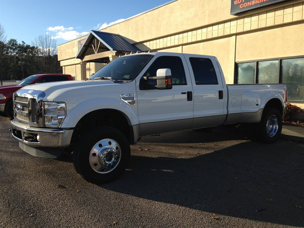 2008 Ford F450sd Lariat 2008 F-450 LARIAT ONE OF A KIND LOW LOW MILES LOADED WITH POWER LEATHER SE