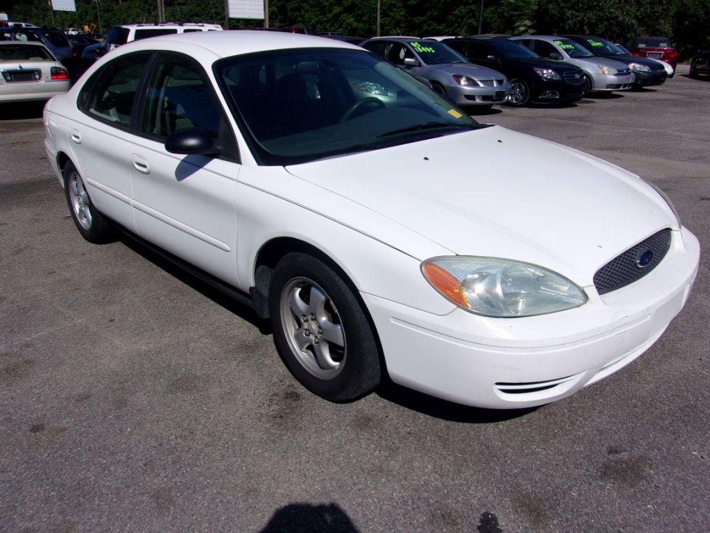2007 Ford Taurus  White Stock 18092 VIN 1FAFP53U77A150943