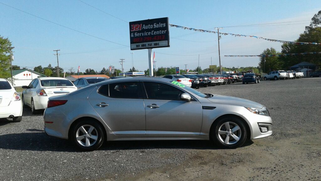 2014 Kia Optima LX Very nice and clean like new pw ps pl gas saver  Silver Stock 465 VIN 5XXG