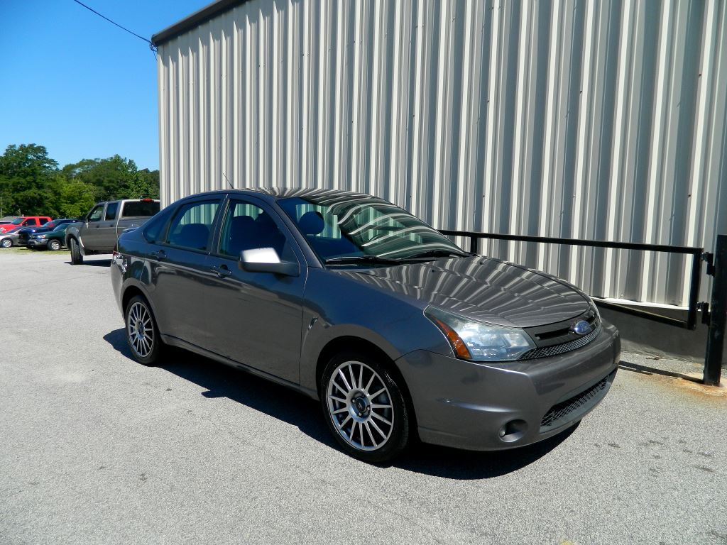 2010 Ford Focus  GRY Stock 9545 VIN 1FAHP3GN0AW210068