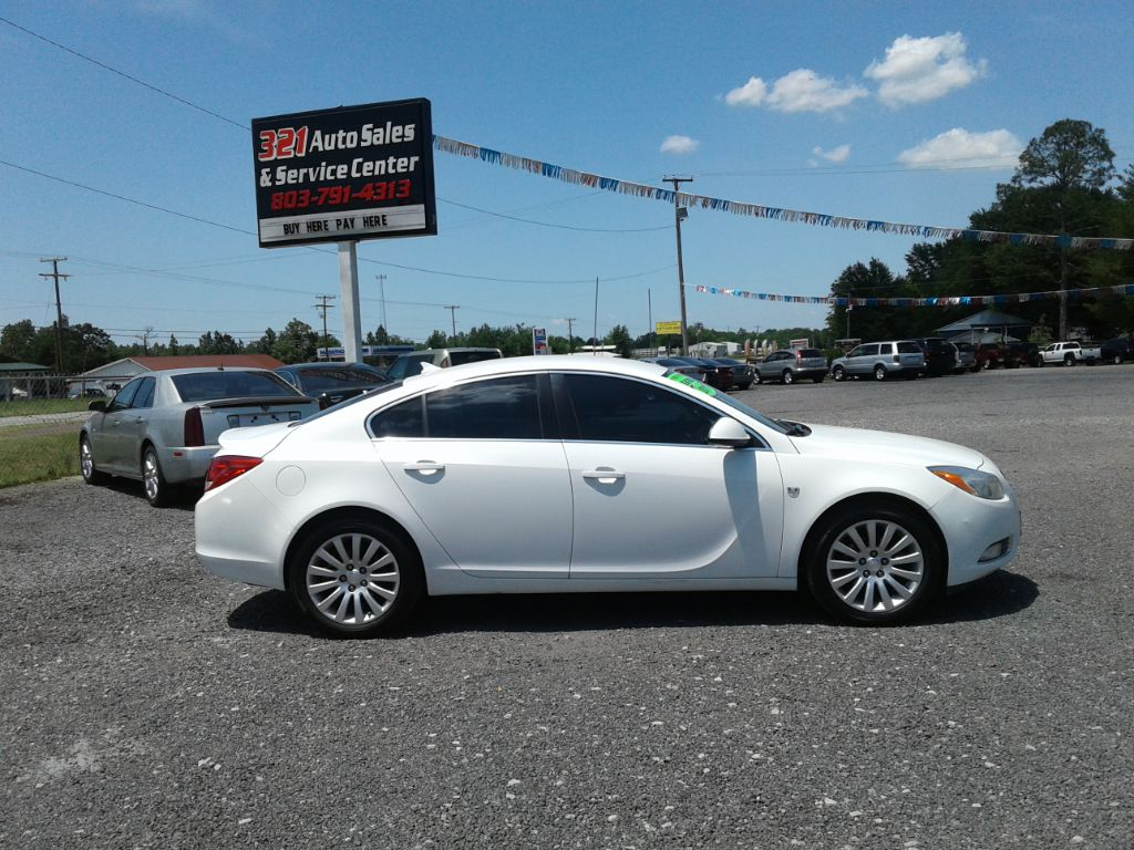 2011 Buick Regal CXL Fully loaded leather pw ps pl very clean  White Stock 511 VIN W04GN5EC1B