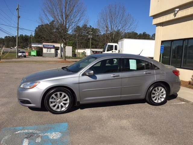 2013 Chrysler 200 Touring 2013 CHRYSLER 200 TOURING Silver Or Aluminum Stock 32785 VIN 1C3CCB