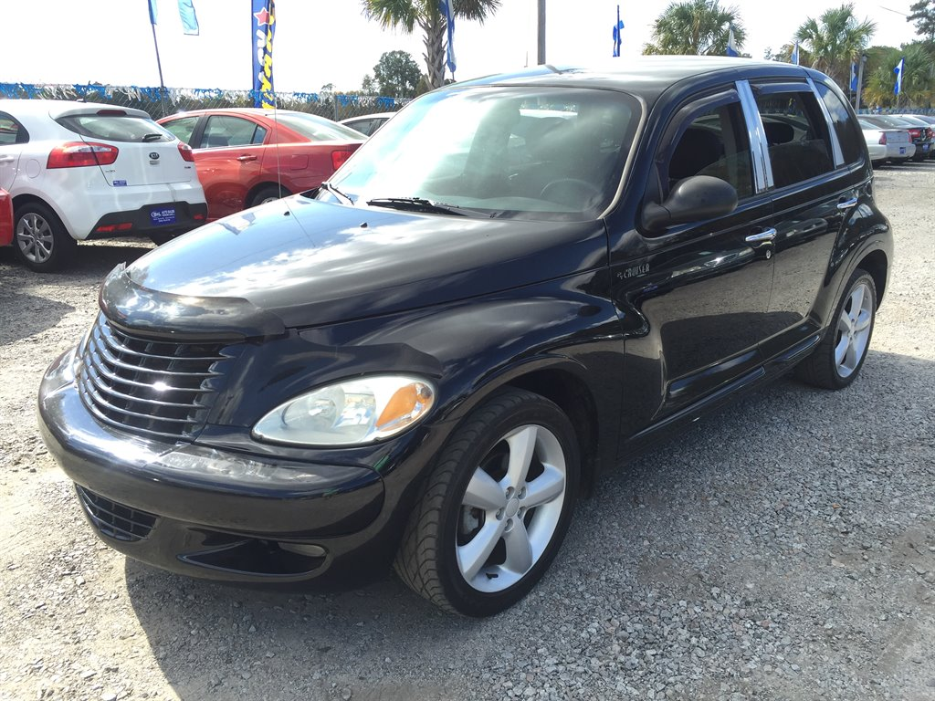 2003 Chrysler PT Cruiser GT ONLY 92K MILES 500 DOWN Black AIR ConditioningAssist Handle