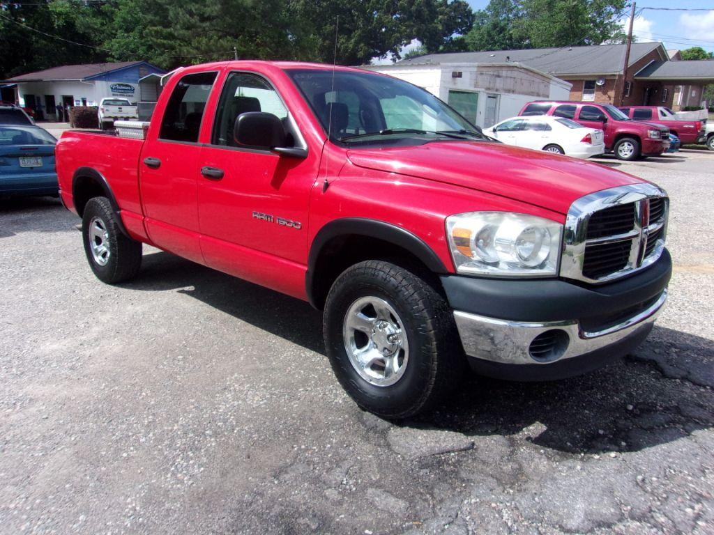 2007 Dodge Ram 1500  RED Stock 18098 VIN 1D7HU18P77J598628