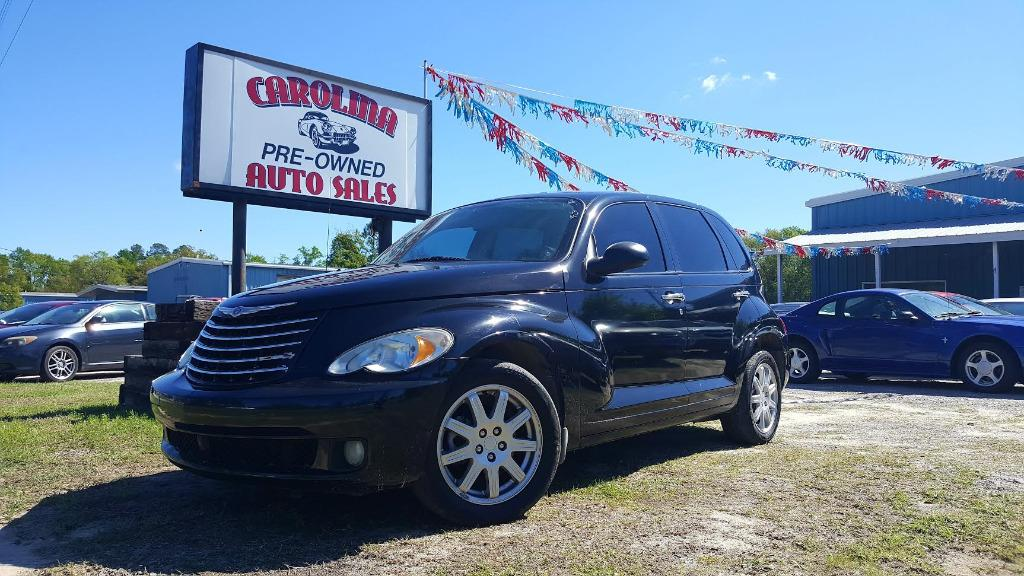2008 Chrysler PT Cruiser Touring Edition 90000 down Black Manual AIR ConditioningAssist Handl