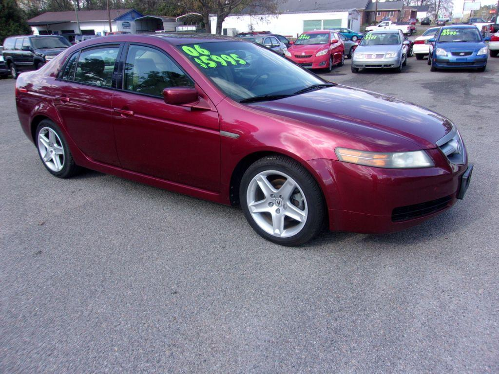 2006 Acura TL  RED Stock 18043 VIN 19UUA66276A010975