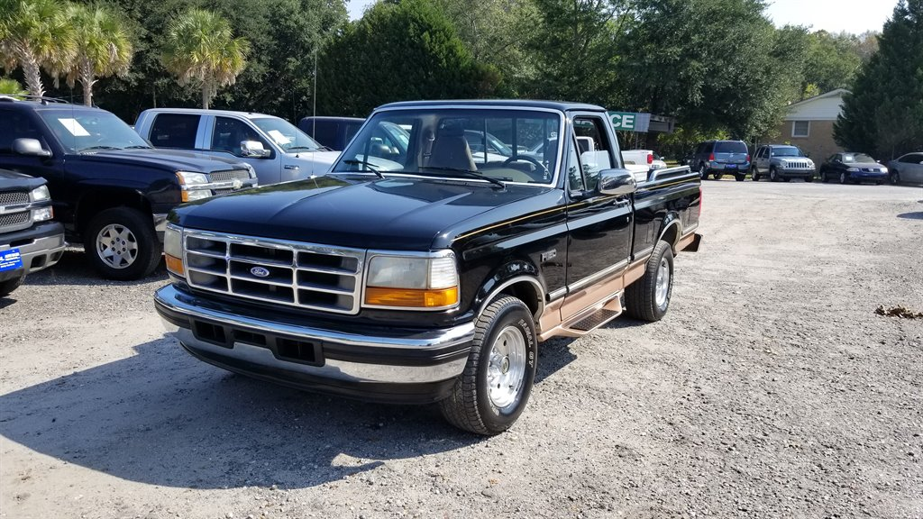 1995 Ford F150 Eddie Bauer 1350 DOWN Black Stock 7050 VIN 1FTDF15Y6SNB75153