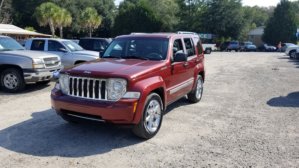 2008 Jeep Liberty Limited Burgundy Stock 7101 VIN 1J8GP58K08W148468