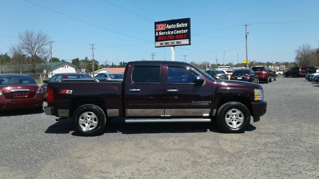 2008 Chevrolet Silverado 1500 LT Fully loaded leather 4wd pl ps pw very clean like new  Purple S