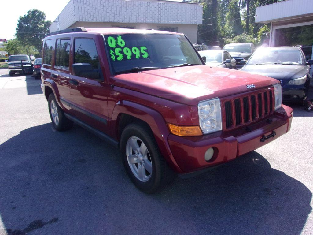 2006 Jeep Commander  Maroon Stock 18040 VIN 1J8HG48N56C151759