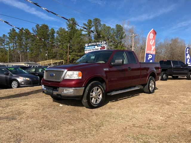 2005 Ford F150  Burgandy Stock 8035 VIN 1FTPX14575FB45384