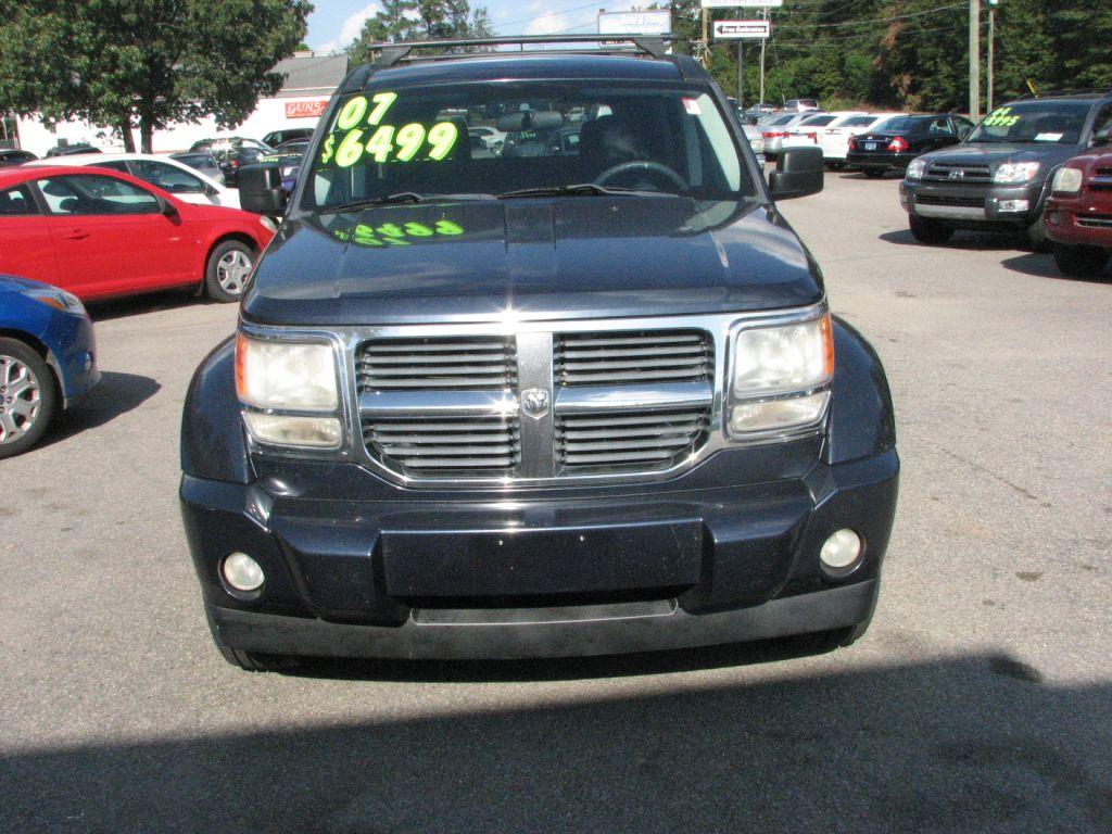 2007 Dodge Nitro  Blue Stock 17183 VIN 1D8GU28K97W735363