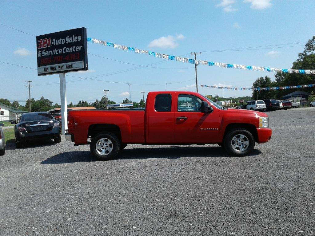 2007 Chevrolet Silverado 1500 LT Very well taken care of pw ps pl  Red Stock 432 VIN 1GCEC190