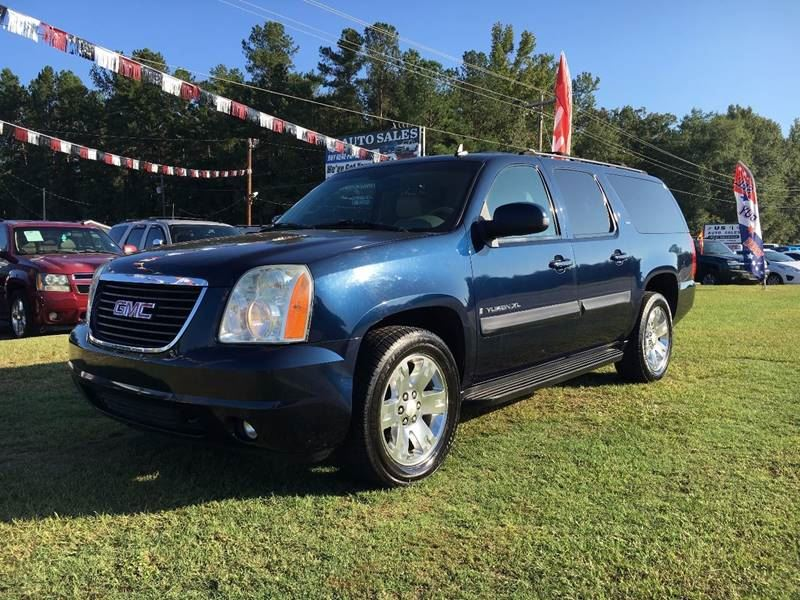 2007 GMC Yukon XL  Blue Stock 7940 VIN 1GKFC16067R284808