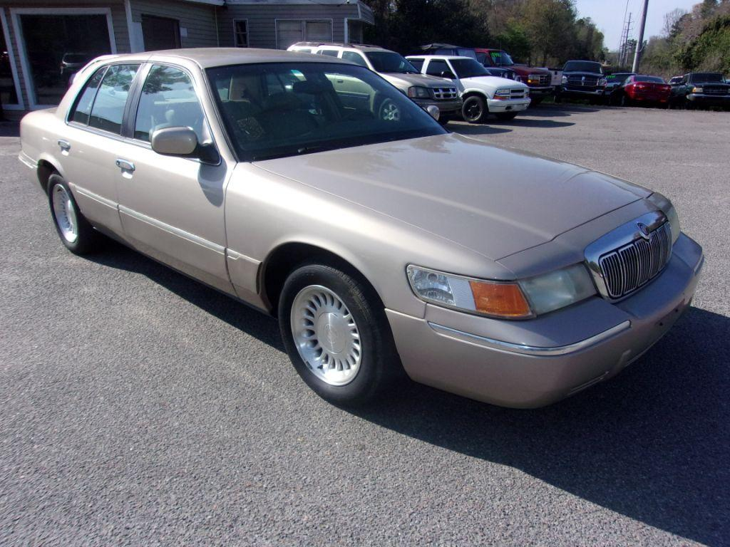 1998 Mercury Grand Marquis  Gold Stock 180498 VIN 2MEFM75W6WX685196