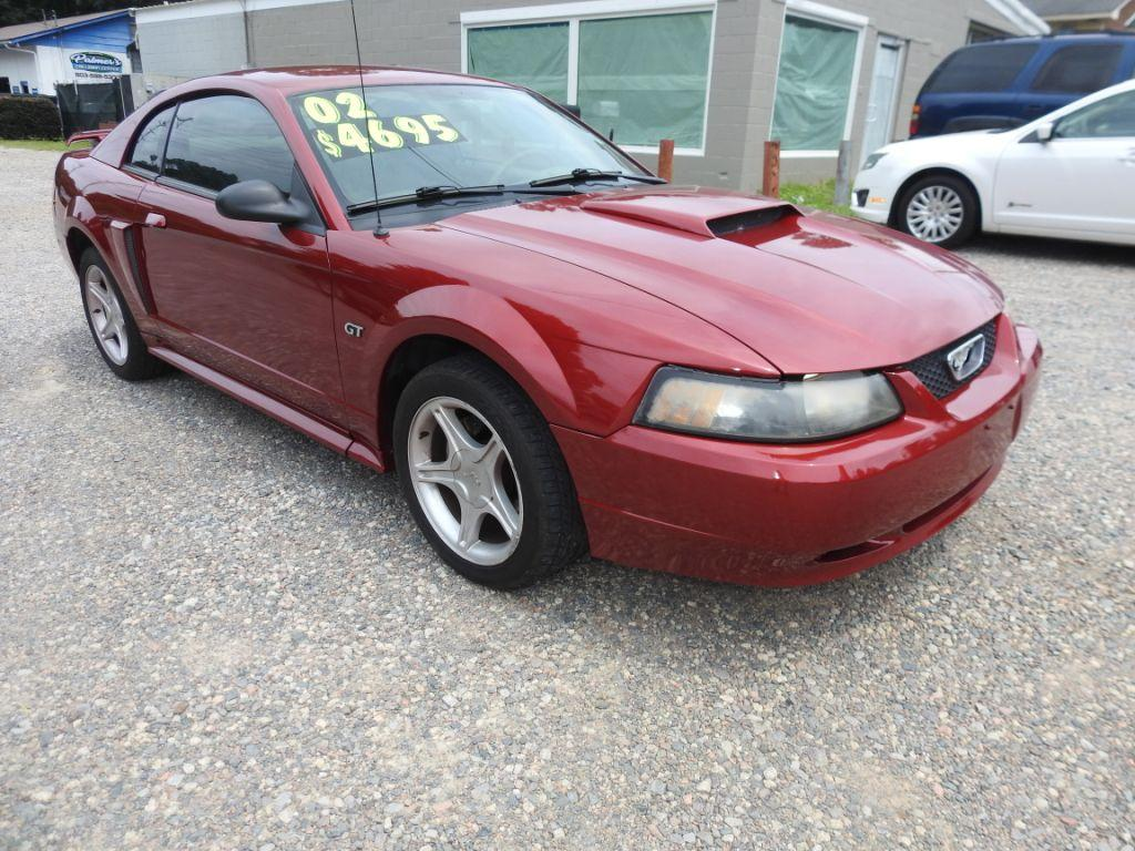 2002 Ford Mustang  RED Stock 18143 VIN 1FAFP42X42F164669
