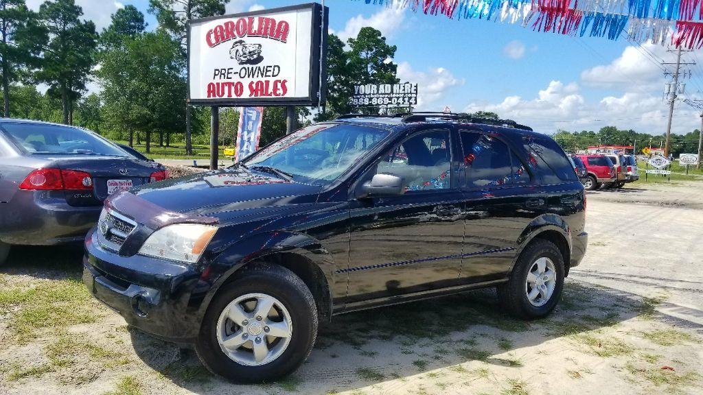 2006 Kia Sorento LX Black Manual Air ConditioningAdjustable Armrests4 Assist HandlesAudio -
