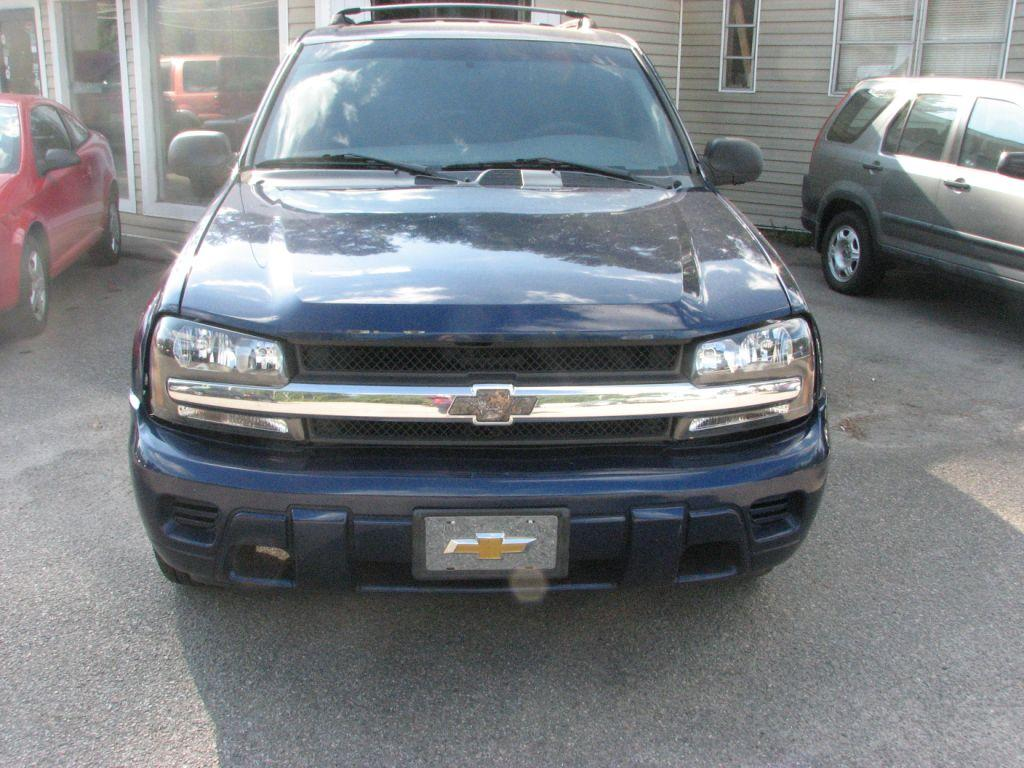 2004 Chevrolet Trailblazer  Blue Stock 17172 VIN 1GNDS13S342250168