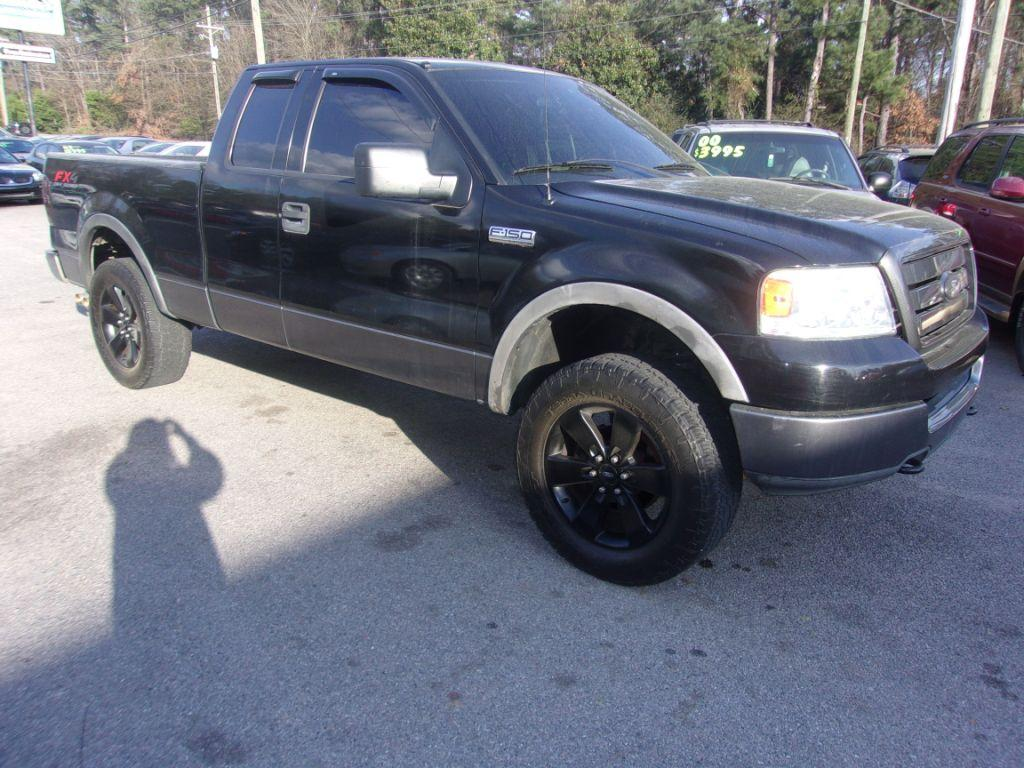 2004 Ford F150  Black Stock 18019 VIN 1FTPX14534NB20406