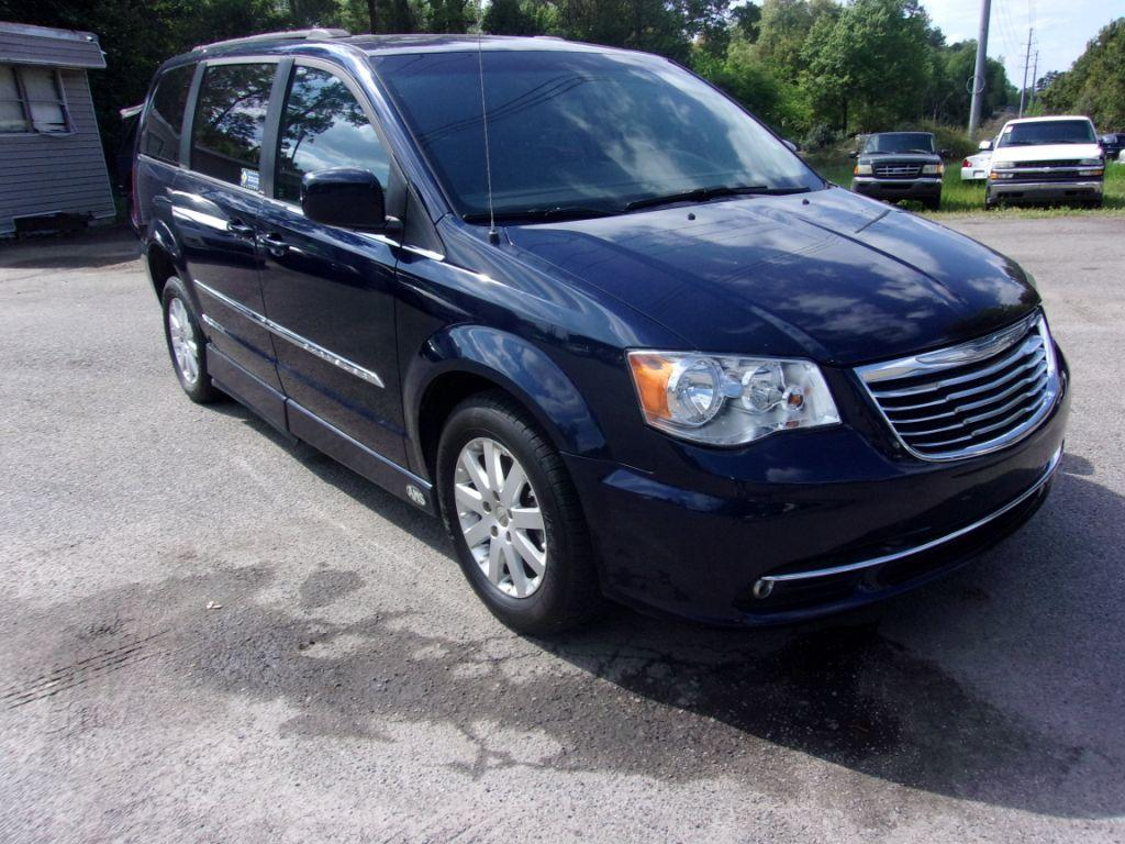 2013 Chrysler Town  Country  Blue Stock 18058 VIN 2C4RC1BG3DR708222